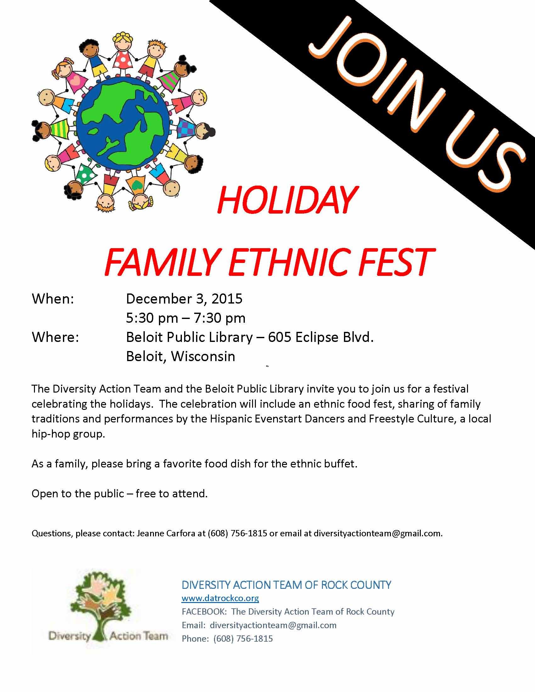 Family Fest, December 2015