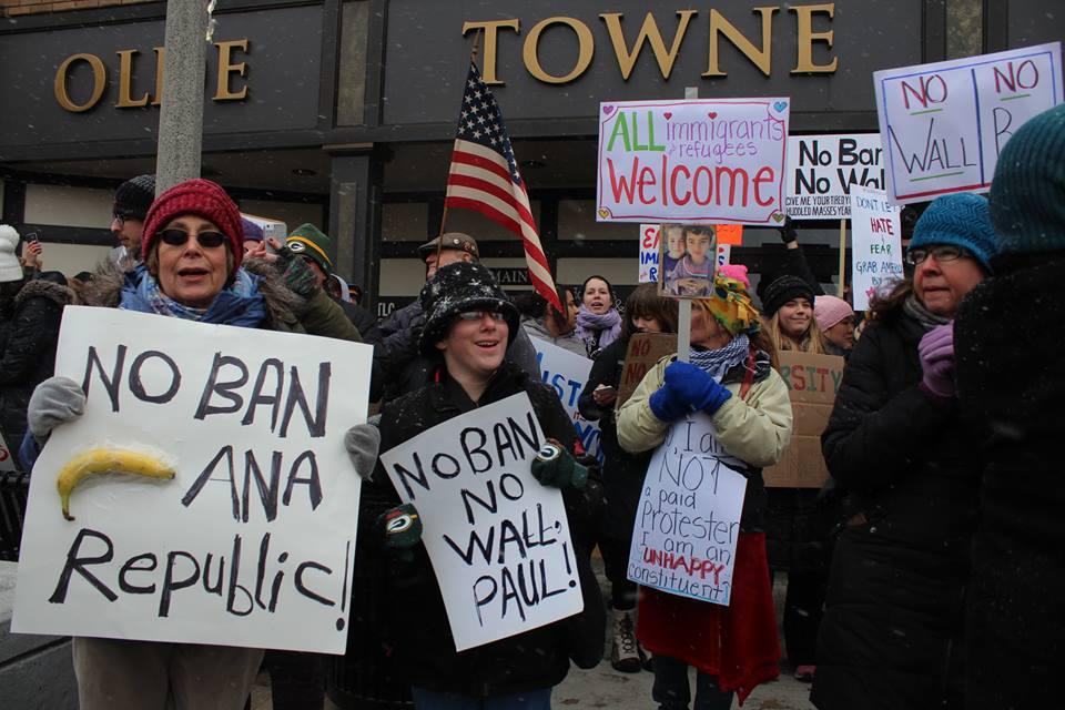 No Ban No Wall Event