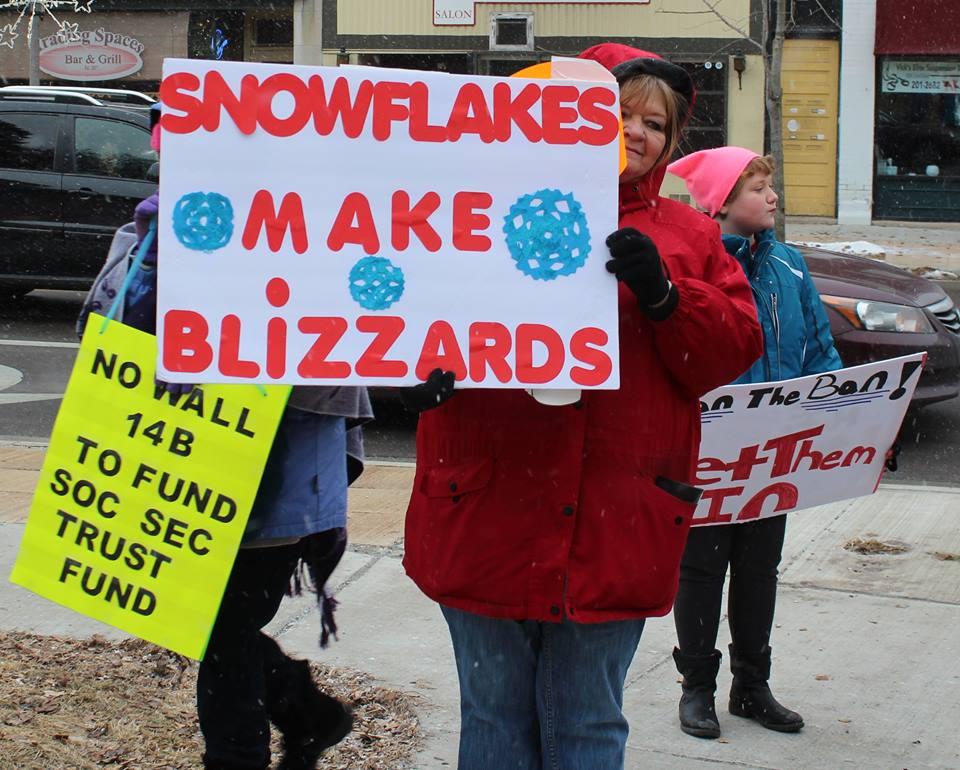 Snowflakes Make Blizzards!